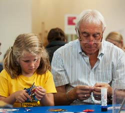 Artspace: intergenerational learning through creative activities, Compton Verney, 2017.